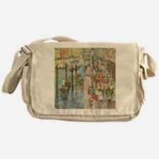Grand Canal, Venice by Prendergast Messenger Bag