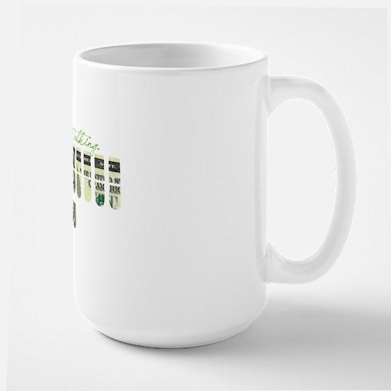 keep_on_talking Large Mug