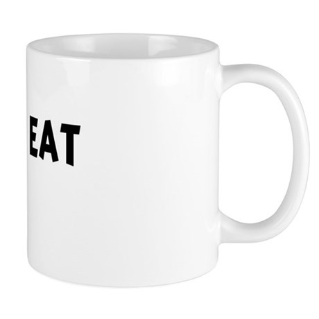 Men eat Pizza Mug