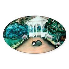 Gazebo Tuxedo Cat Decal