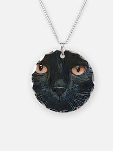 Black Velvet Cat by Lori Ale Necklace