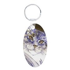 Sabine Maine Coon Cat by Lo Keychains