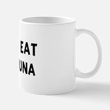 Men eat Bluefin Tuna Mug