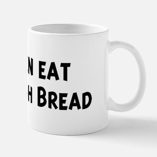 Men eat Sourdough Bread Mug