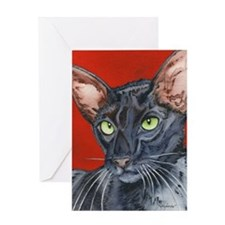 Morticia Greeting Card