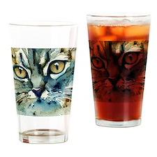 Carmen Cat by Lori Alexander Drinking Glass