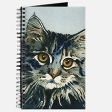 Elfin Maine Coon Cat by Lori Alexander Journal