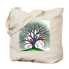 Iowa Stray Cats in Tree by Lori Alexander Tote Bag