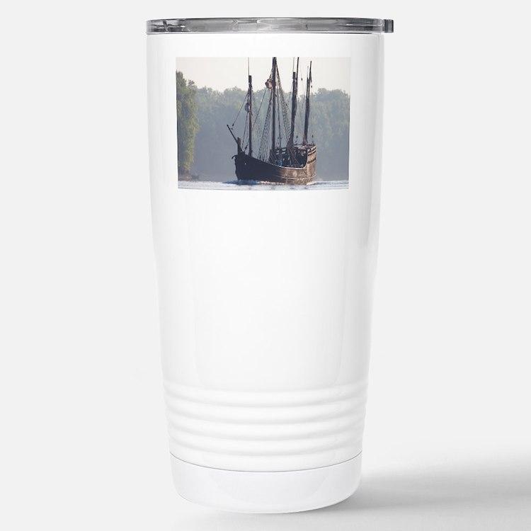 pinta and the nina Travel Mug