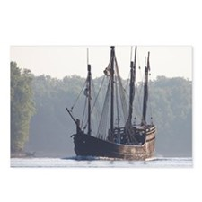 pinta and the nina Postcards (Package of 8)
