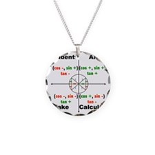 all students take calc Necklace
