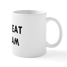Men eat Sour Cream Mug