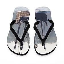 pinta and the nina Flip Flops