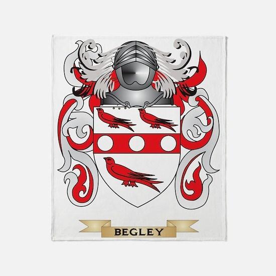 Begley Coat of Arms Throw Blanket