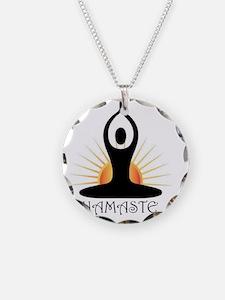Morning Yoga, Rising Sun, Na Necklace