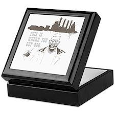 BBQ Transparent background Keepsake Box