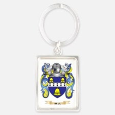 Bell Coat of Arms Portrait Keychain