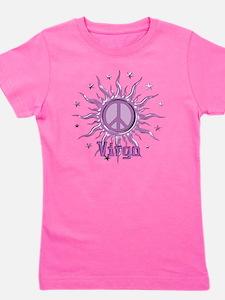 Peace Sun Virgo Girl's Tee