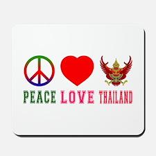 Peace Love Thailand Mousepad
