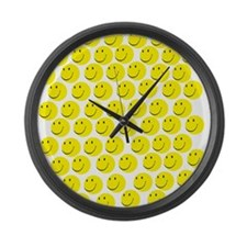 Smiles Large Wall Clock