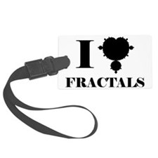 FRACTALS Luggage Tag