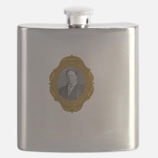William Taft White Flask