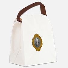 William Taft White Canvas Lunch Bag