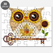 Owls Autumn Song Puzzle