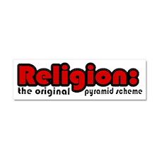 Atheist humor Car Magnet 10 x 3