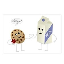 Cute Love - Milk and Cook Postcards (Package of 8)