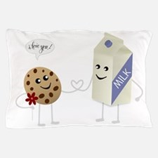 Cute Love - Milk and Cookie Pillow Case