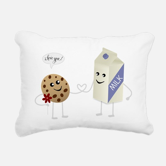 Cute Love - Milk and Coo Rectangular Canvas Pillow