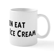 Men eat Chocolate Ice Cream Mug