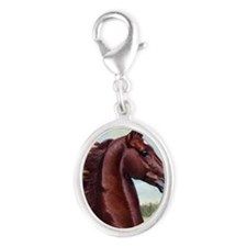 The Prince by Jeanne Newton Sch Silver Oval Charm