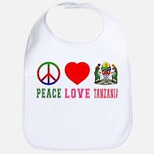 Peace Love Tanzania Bib
