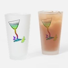 BUTTERFLY MARTINI Drinking Glass