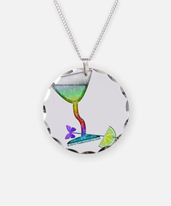 BUTTERFLY MARTINI Necklace
