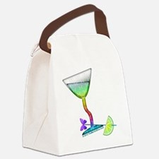 BUTTERFLY MARTINI Canvas Lunch Bag