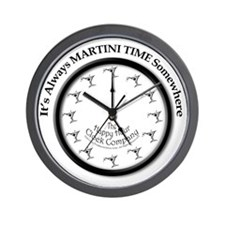 AlwaysMartiniTime Wall Clock