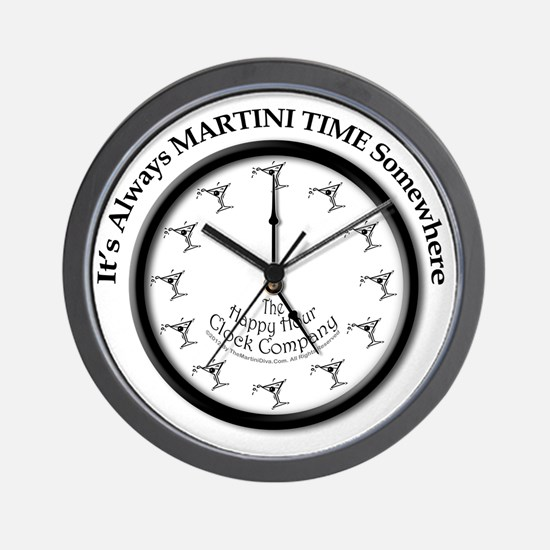 AlwaysMartiniTime Wall Clock