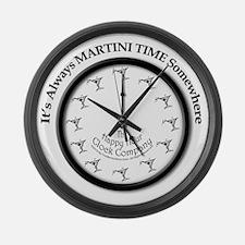 AlwaysMartiniTime Large Wall Clock