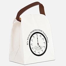 AlwaysMartiniTime Canvas Lunch Bag