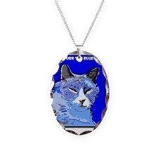 I Purr the Blues Necklace