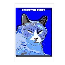 I Purr the Blues Postcards (Package of 8)