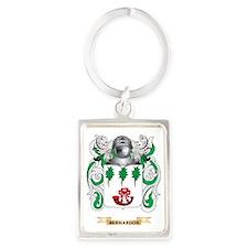 Bernardos Coat of Arms Portrait Keychain