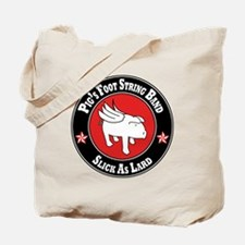 Pigs Foot String Band - White Pig Tote Bag
