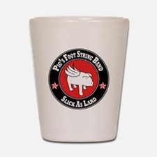 Pigs Foot String Band - White Pig Shot Glass