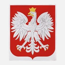 Polish Eagle Throw Blanket