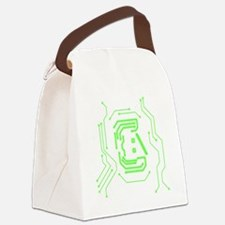 Circuit Canvas Lunch Bag