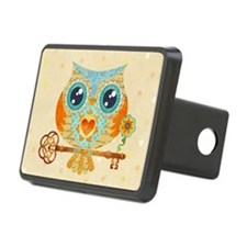Owls Summer Love Letters Hitch Cover